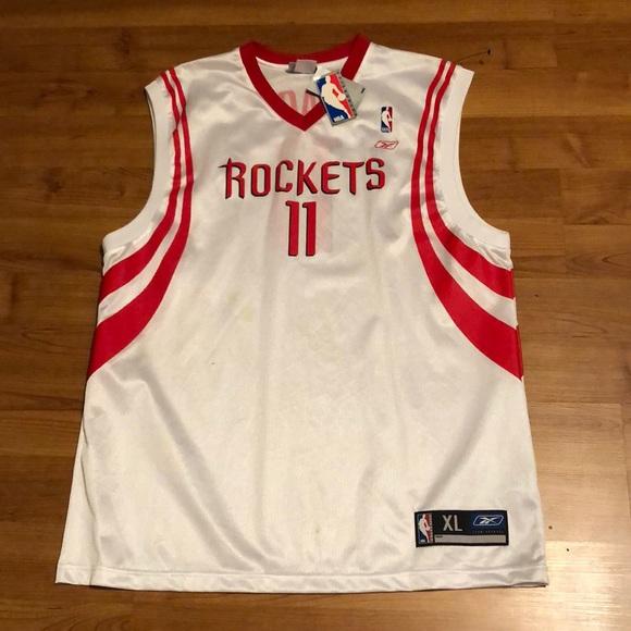 4295aadd946 Vintage Yao Ming Houston Rockets Jersey. NWT. Reebok